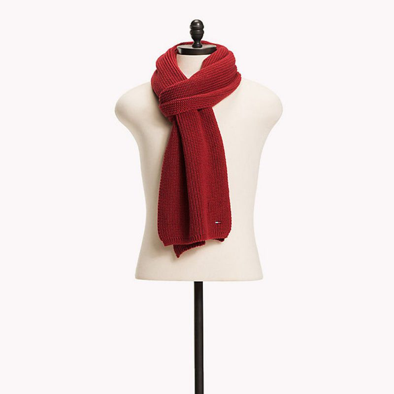 Basic Scarf Red