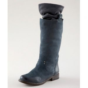 Fornarina Nabuck Boot Dionne Blue